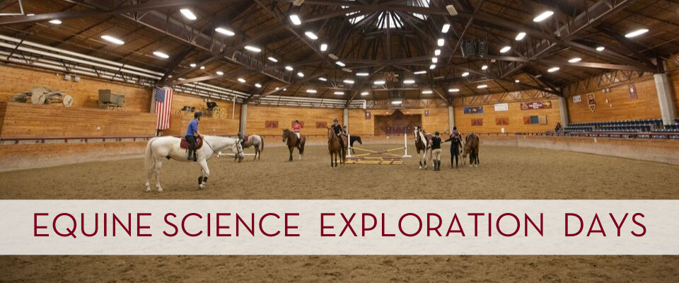 Equine Science Exploration Day