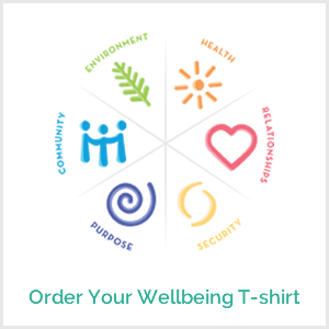 Wellbeing T-shirts