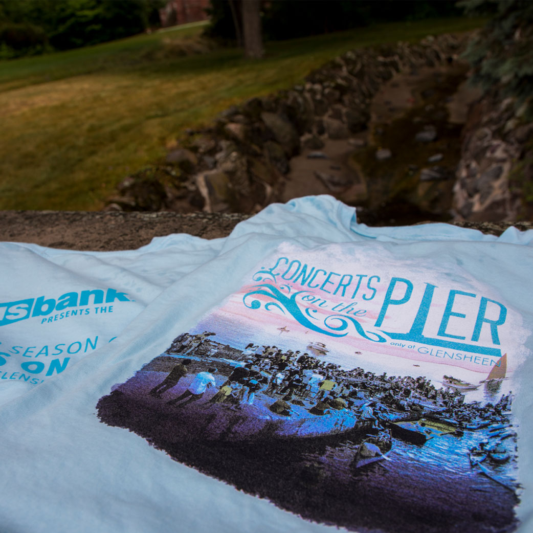 Concerts on the Pier T-Shirt 2018