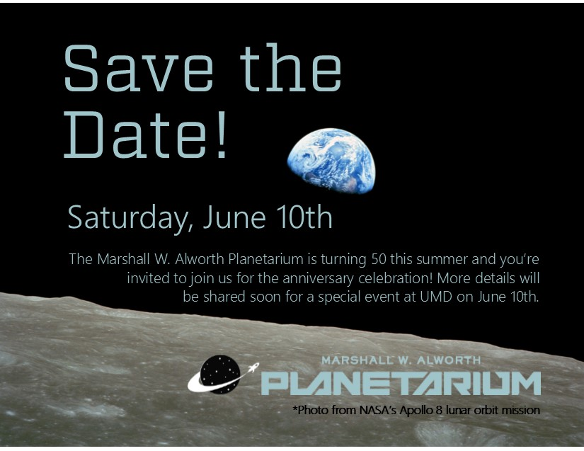 50th Anniversary of the Marshall W. Alworth Planetarium