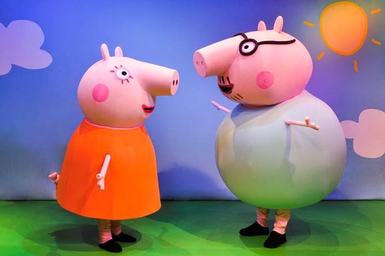 Peppa Pig Live Peppa Pig S Big Splash