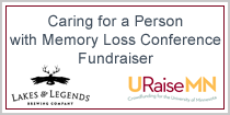 Caring for a Person with Memory Loss Conference Fundraiser