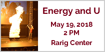 Energy and U - May 19, 2018, 2 PM, Rarig Center