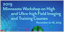 2019 Minnesota Workshop on High and Ultra-high Field Imaging and Training Courses, Nov 12-16, 2019