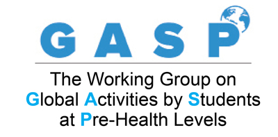 GASP - The Working Group on Global Activities by Students at Pre-Health Levels