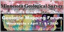 MN Geological Survey - Geologic Mapping Forum Minnepolis April 7 - 9, 2020