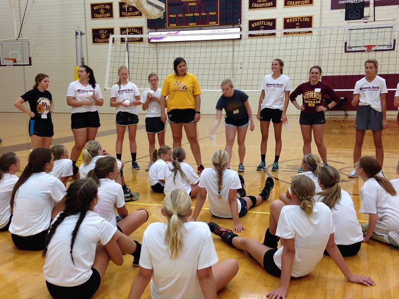 Volleyball Skills Camp: Grades 4-9