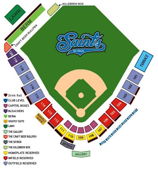 CHS Field Seating Chart
